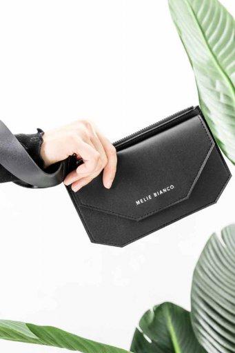 海外ファッションや大人カジュアルのためのインポートバッグ、かばんmelie bianco(メリービアンコ)のLottie (Black)