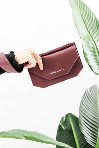 海外ファッションや大人カジュアルのためのインポートバッグ、かばんmelie bianco(メリービアンコ)のLottie (Burgundy)