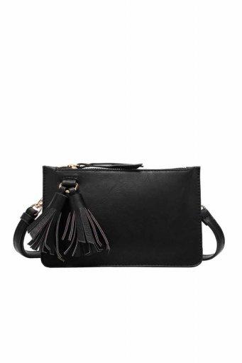 海外ファッションや大人カジュアルのためのインポートバッグ、かばんmelie bianco(メリービアンコ)のFarrah (Black)