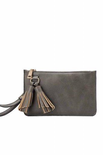 海外ファッションや大人カジュアルのためのインポートバッグ、かばんmelie bianco(メリービアンコ)のFarrah (Gray)