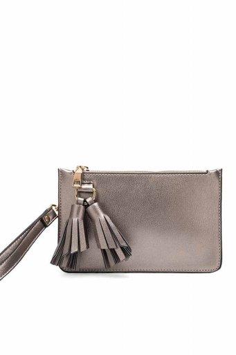 海外ファッションや大人カジュアルのためのインポートバッグ、かばんmelie bianco(メリービアンコ)のFarrah (Pewter)