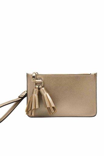 海外ファッションや大人カジュアルのためのインポートバッグ、かばんmelie bianco(メリービアンコ)のFarrah (Gold)