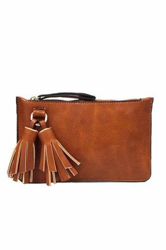 海外ファッションや大人カジュアルのためのインポートバッグ、かばんmelie bianco(メリービアンコ)のFarrah (Saddle)