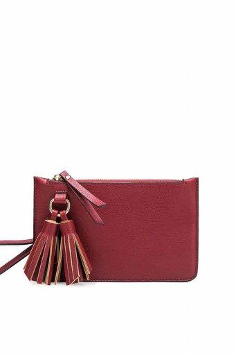 海外ファッションや大人カジュアルのためのインポートバッグ、かばんmelie bianco(メリービアンコ)のFarrah (Wine)