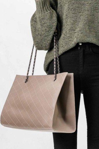海外ファッションや大人カジュアルのためのインポートバッグ、かばんmelie bianco(メリービアンコ)のNova (Taupe)