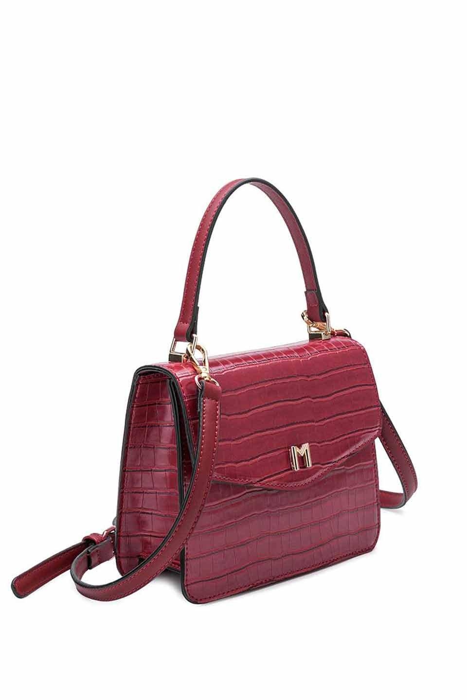 meliebiancoのLena(Burgundy)/海外ファッション好きにオススメのインポートバッグとかばん、MelieBianco(メリービアンコ)のバッグやハンドバッグ。meliebianco(メリービアンコ)の2018年秋冬の新作になります。メリービアンコ自慢のビーガンレザーを使用したアニマルフレンドリーなアイテム。/main-1