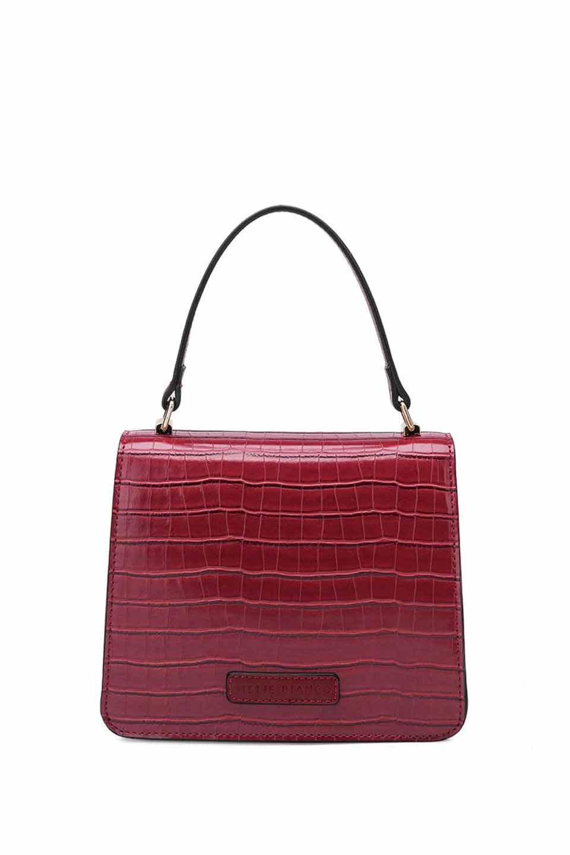 meliebiancoのLena(Burgundy)/海外ファッション好きにオススメのインポートバッグとかばん、MelieBianco(メリービアンコ)のバッグやハンドバッグ。meliebianco(メリービアンコ)の2018年秋冬の新作になります。メリービアンコ自慢のビーガンレザーを使用したアニマルフレンドリーなアイテム。/main-2