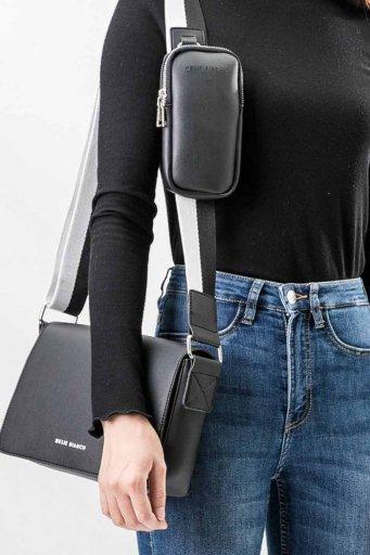 海外ファッションや大人カジュアルのためのインポートバッグ、かばんmelie bianco(メリービアンコ)のRay (Black)