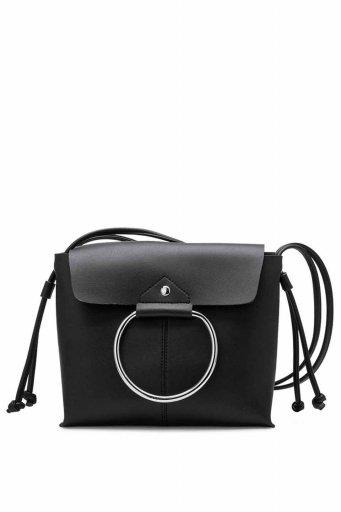 海外ファッションや大人カジュアルのためのインポートバッグ、かばんmelie bianco(メリービアンコ)のDillen (Black)