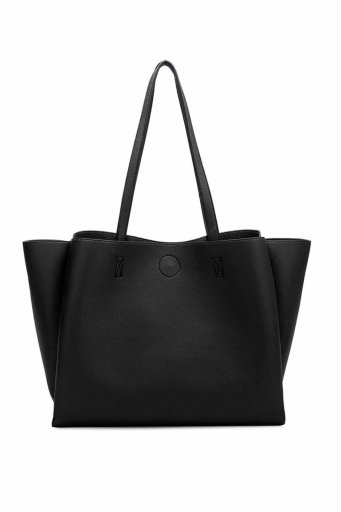 海外ファッションや大人カジュアルのためのインポートバッグ、かばんmelie bianco(メリービアンコ)のKaia (Black)