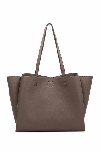 海外ファッションや大人カジュアルのためのインポートバッグ、かばんmelie bianco(メリービアンコ)のKaia (Taupe)