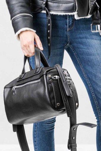 海外ファッションや大人カジュアルのためのインポートバッグ、かばんmelie bianco(メリービアンコ)のSienna (Black)