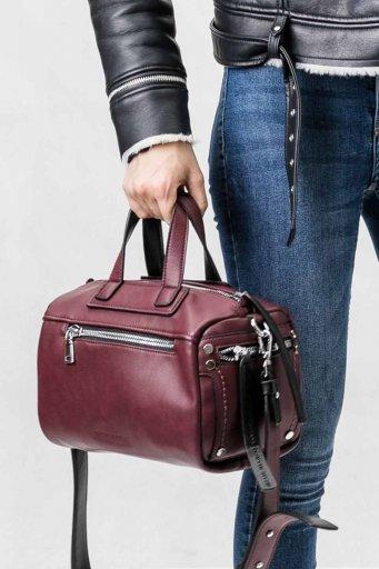 海外ファッションや大人カジュアルのためのインポートバッグ、かばんmelie bianco(メリービアンコ)のSienna (Burgundy)