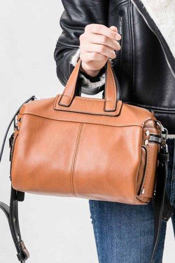 海外ファッションや大人カジュアルのためのインポートバッグ、かばんmelie bianco(メリービアンコ)のSienna (Saddle)
