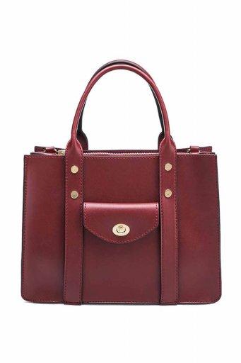 海外ファッションや大人カジュアルのためのインポートバッグ、かばんmelie bianco(メリービアンコ)のKhole (Burgundy)