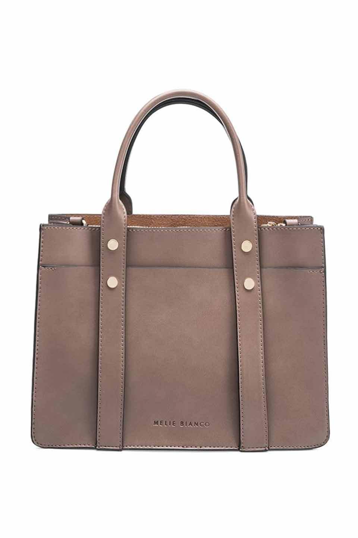 meliebiancoのKhole(Taupe)/海外ファッション好きにオススメのインポートバッグとかばん、MelieBianco(メリービアンコ)のバッグやハンドバッグ。meliebianco(メリービアンコ)の2018年秋冬の新作になります。メリービアンコ自慢のビーガンレザーを使用したアニマルフレンドリーなアイテム。/main-1