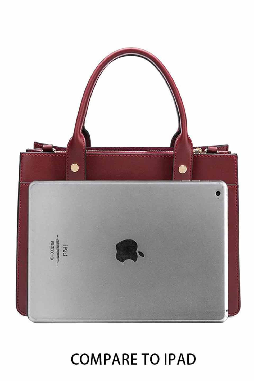 meliebiancoのKhole(Taupe)/海外ファッション好きにオススメのインポートバッグとかばん、MelieBianco(メリービアンコ)のバッグやハンドバッグ。meliebianco(メリービアンコ)の2018年秋冬の新作になります。メリービアンコ自慢のビーガンレザーを使用したアニマルフレンドリーなアイテム。/main-4