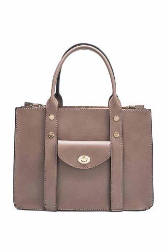 海外ファッションや大人カジュアルのためのインポートバッグ、かばんmelie bianco(メリービアンコ)のKhole (Taupe)