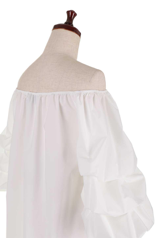 JosephRibkoffのTop#1834233段バルーンスリーブ・ブラウス/JosephRibkoffのトップスやシャツ・ブラウス。袖にボリュームをもたせて、ふんわりとしたイメージを醸し出すブラウス。オフショルダーと大きすぎないルーズサイズのデザインです。/main-7