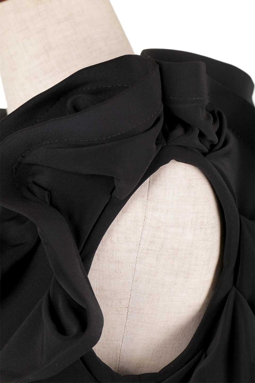 JosephRibkoffのTop#153168ハイストレッチ・ラッフルトップ/JosephRibkoffのトップスやシャツ・ブラウス。バラの花びらのようなフリルが印象的なトップス。大きなフリルの縁にはワイヤーが入っているので、萎んでしまうことはありません。/main-11