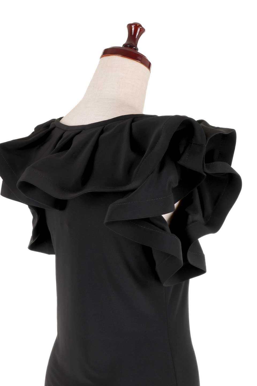 JosephRibkoffのTop#153168ハイストレッチ・ラッフルトップ/JosephRibkoffのトップスやシャツ・ブラウス。バラの花びらのようなフリルが印象的なトップス。大きなフリルの縁にはワイヤーが入っているので、萎んでしまうことはありません。/main-7