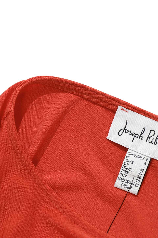 JosephRibkoffのTop#183273プリーツ入り・フレアスリーブトップス/JosephRibkoffのトップスやシャツ・ブラウス。シンプルなボディに美しいプリーツのフレアスリーブが特徴のブラウス。はいストレッチのしっかりした生地なので型崩れの心配はありません。/main-13