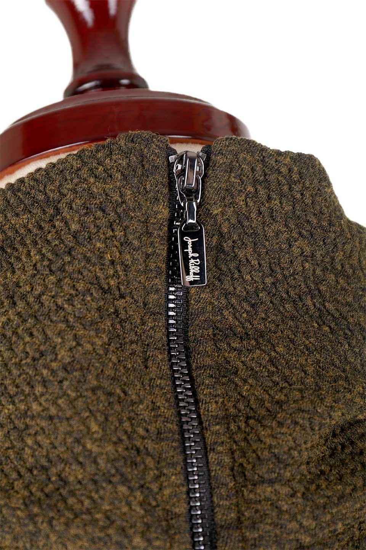 JosephRibkoffのTunic#183322ツイストネック・フィッシュテールチュニック/JosephRibkoffのトップスやニット・セーター。シンプルですがデザイン性の高いニットのコクーンプルオーバー。ネジリを加えたタートルネックが可愛いポイント細身の袖がゆったりシルエットをスッキリ見せてくれます。/main-10
