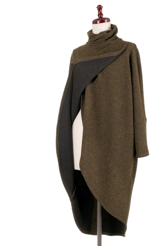 JosephRibkoffのTunic#183322ツイストネック・フィッシュテールチュニック/JosephRibkoffのトップスやニット・セーター。シンプルですがデザイン性の高いニットのコクーンプルオーバー。ネジリを加えたタートルネックが可愛いポイント細身の袖がゆったりシルエットをスッキリ見せてくれます。/main-16
