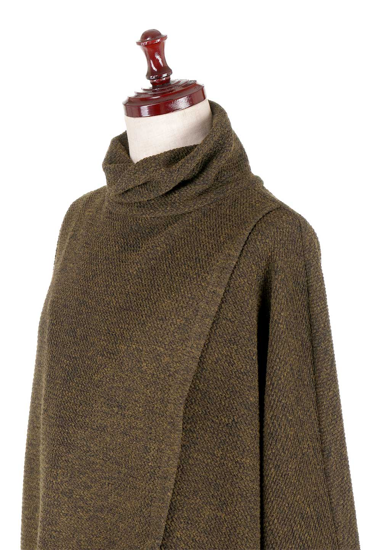 JosephRibkoffのTunic#183322ツイストネック・フィッシュテールチュニック/JosephRibkoffのトップスやニット・セーター。シンプルですがデザイン性の高いニットのコクーンプルオーバー。ネジリを加えたタートルネックが可愛いポイント細身の袖がゆったりシルエットをスッキリ見せてくれます。/main-6