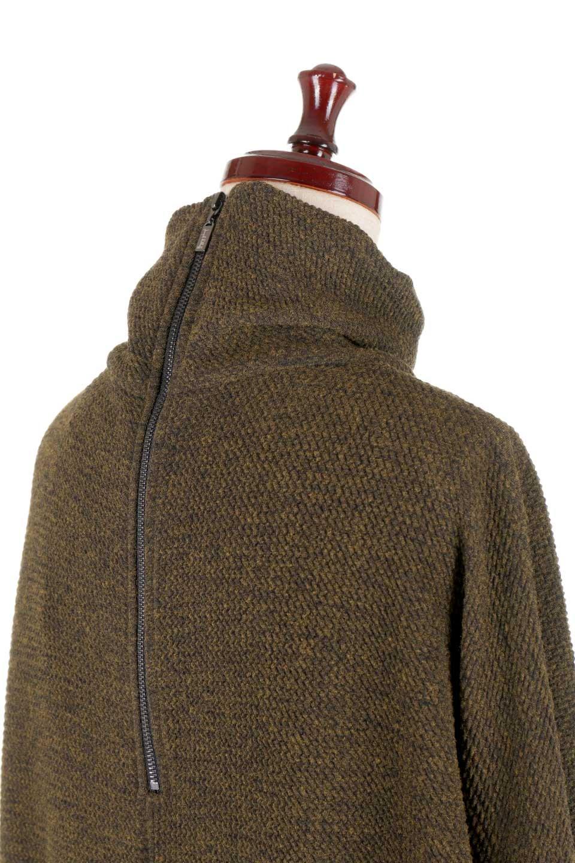 JosephRibkoffのTunic#183322ツイストネック・フィッシュテールチュニック/JosephRibkoffのトップスやニット・セーター。シンプルですがデザイン性の高いニットのコクーンプルオーバー。ネジリを加えたタートルネックが可愛いポイント細身の袖がゆったりシルエットをスッキリ見せてくれます。/main-7