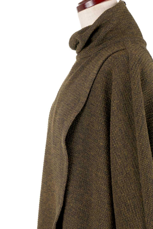 JosephRibkoffのTunic#183322ツイストネック・フィッシュテールチュニック/JosephRibkoffのトップスやニット・セーター。シンプルですがデザイン性の高いニットのコクーンプルオーバー。ネジリを加えたタートルネックが可愛いポイント細身の袖がゆったりシルエットをスッキリ見せてくれます。/main-8