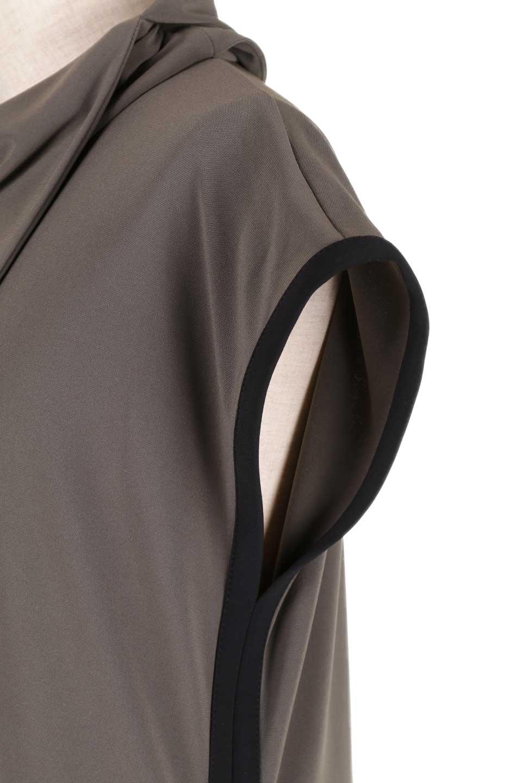JosephRibkoffのTunic#183176変形カウルネック・ライン入りチュニック/JosephRibkoffのトップスやシャツ・ブラウス。フレンチスリーブからサイドにかけてのラインがスポーティーな雰囲気のチュニック。海外ではすでに定番化しているアスレジャーをジョセフリブコフ独特な上品さで仕上げたようなアイテムです。/main-12