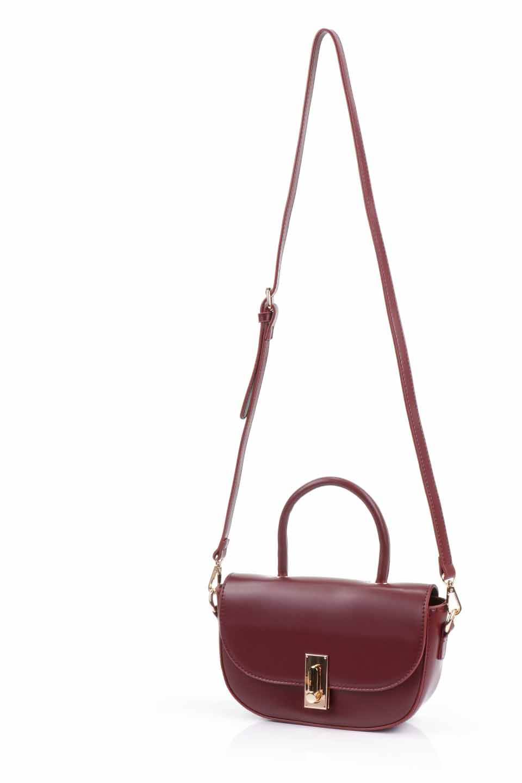 meliebiancoのAlba(Burgundy)/海外ファッション好きにオススメのインポートバッグとかばん、MelieBianco(メリービアンコ)のバッグやショルダーバッグ。高級感のあるセミグロスのビーガンレザーを使用した2Wayハンドバッグ。しっとりとしたツヤ感がとても素敵なバッグです。/main-11
