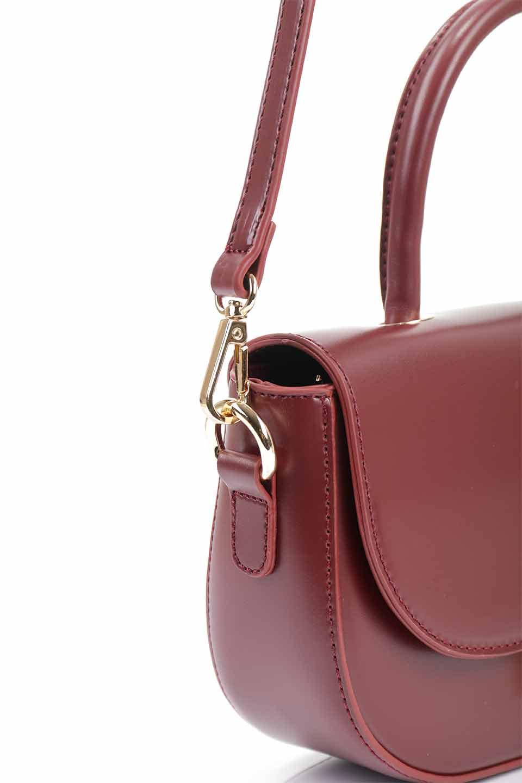 meliebiancoのAlba(Burgundy)/海外ファッション好きにオススメのインポートバッグとかばん、MelieBianco(メリービアンコ)のバッグやショルダーバッグ。高級感のあるセミグロスのビーガンレザーを使用した2Wayハンドバッグ。しっとりとしたツヤ感がとても素敵なバッグです。/main-16