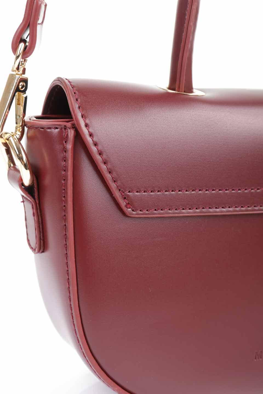 meliebiancoのAlba(Burgundy)/海外ファッション好きにオススメのインポートバッグとかばん、MelieBianco(メリービアンコ)のバッグやショルダーバッグ。高級感のあるセミグロスのビーガンレザーを使用した2Wayハンドバッグ。しっとりとしたツヤ感がとても素敵なバッグです。/main-20