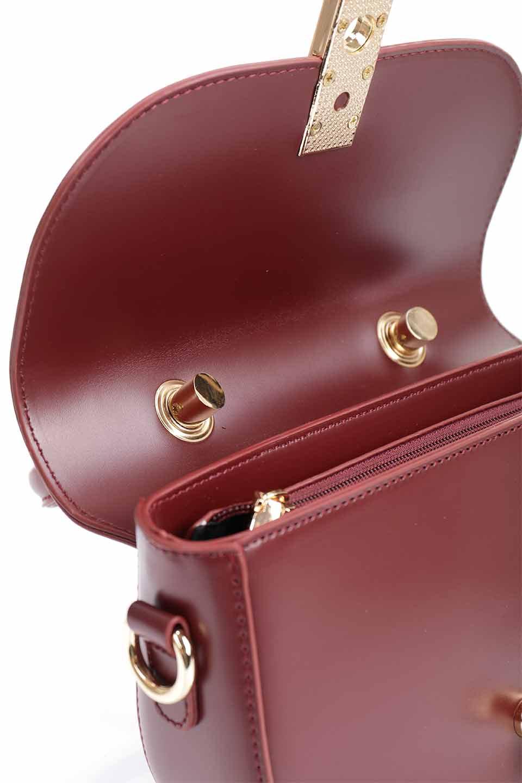 meliebiancoのAlba(Burgundy)/海外ファッション好きにオススメのインポートバッグとかばん、MelieBianco(メリービアンコ)のバッグやショルダーバッグ。高級感のあるセミグロスのビーガンレザーを使用した2Wayハンドバッグ。しっとりとしたツヤ感がとても素敵なバッグです。/main-22