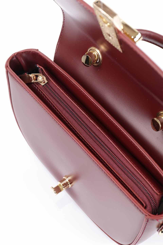 meliebiancoのAlba(Burgundy)/海外ファッション好きにオススメのインポートバッグとかばん、MelieBianco(メリービアンコ)のバッグやショルダーバッグ。高級感のあるセミグロスのビーガンレザーを使用した2Wayハンドバッグ。しっとりとしたツヤ感がとても素敵なバッグです。/main-23