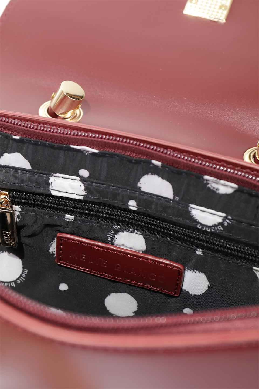 meliebiancoのAlba(Burgundy)/海外ファッション好きにオススメのインポートバッグとかばん、MelieBianco(メリービアンコ)のバッグやショルダーバッグ。高級感のあるセミグロスのビーガンレザーを使用した2Wayハンドバッグ。しっとりとしたツヤ感がとても素敵なバッグです。/main-25