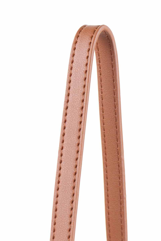 meliebiancoのDesi(Saddle)/海外ファッション好きにオススメのインポートバッグとかばん、MelieBianco(メリービアンコ)のバッグやショルダーバッグ。人気のチェック柄をあしらったコンパクトサイズのショルダーバッグ。レザー部分とチェックのカラーを合わせているのも心憎いポイント。/main-7