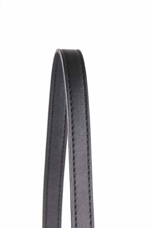 meliebiancoのStella(Black)/海外ファッション好きにオススメのインポートバッグとかばん、MelieBianco(メリービアンコ)のバッグやショルダーバッグ。以前大人気だったバケツ型バッグのステラをクロコダイルの型押しでアップデート。程よい大きさや使い勝手の良さはそのままに上品なカジュアル感がアップしました。/main-11