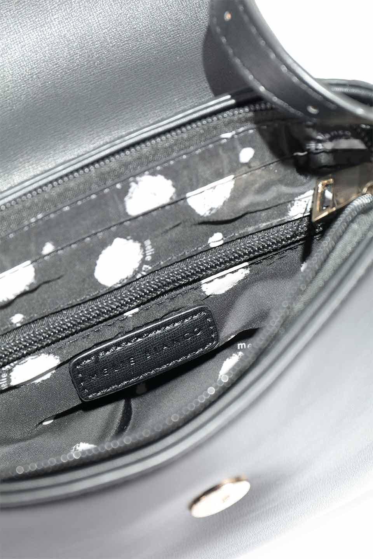 meliebiancoのLyla(Black)/海外ファッション好きにオススメのインポートバッグとかばん、MelieBianco(メリービアンコ)のバッグやショルダーバッグ。ふっくらと丸いシルエットが可愛いショルダーバッグ。ストラップは両サイドの付け根でも長さが調節できるので、お好みの長さに調節できます。/main-10