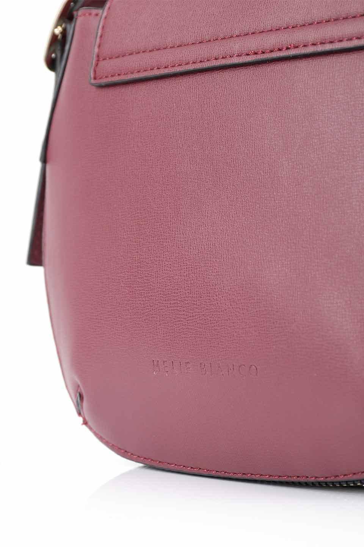 meliebiancoのLyla(Burgundy)/海外ファッション好きにオススメのインポートバッグとかばん、MelieBianco(メリービアンコ)のバッグやショルダーバッグ。ふっくらと丸いシルエットが可愛いショルダーバッグ。ストラップは両サイドの付け根でも長さが調節できるので、お好みの長さに調節できます。/main-12