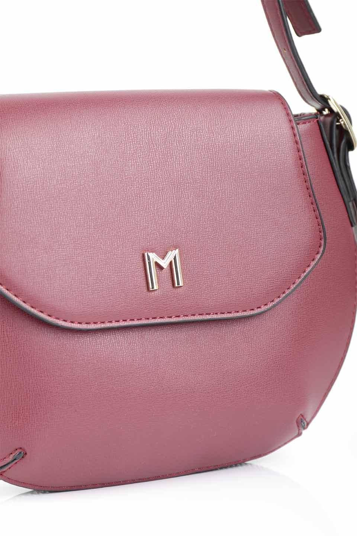 meliebiancoのLyla(Burgundy)/海外ファッション好きにオススメのインポートバッグとかばん、MelieBianco(メリービアンコ)のバッグやショルダーバッグ。ふっくらと丸いシルエットが可愛いショルダーバッグ。ストラップは両サイドの付け根でも長さが調節できるので、お好みの長さに調節できます。/main-9