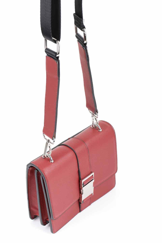 meliebiancoのStalkingGia(Wine)/海外ファッション好きにオススメのインポートバッグとかばん、MelieBianco(メリービアンコ)のバッグやショルダーバッグ。メタルのバックルがアクセントの2Wayショルダーバッグ。付属のストラップを背面に取り付ければウエストバッグとして楽しめます。/main-6