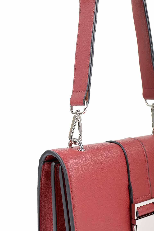 meliebiancoのStalkingGia(Wine)/海外ファッション好きにオススメのインポートバッグとかばん、MelieBianco(メリービアンコ)のバッグやショルダーバッグ。メタルのバックルがアクセントの2Wayショルダーバッグ。付属のストラップを背面に取り付ければウエストバッグとして楽しめます。/main-7