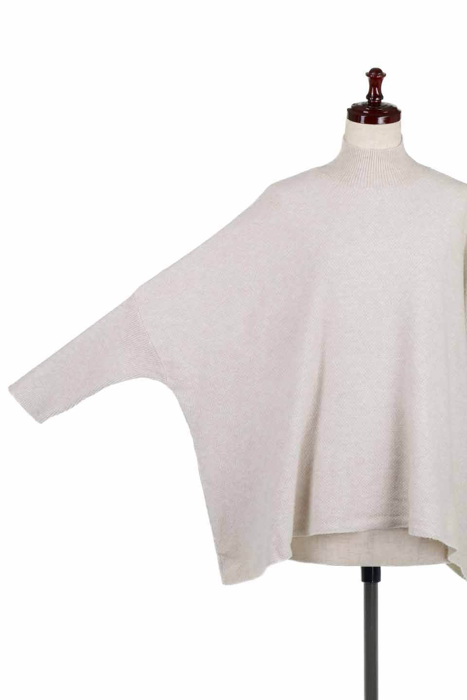 LOVESTITCHのTeilaSweaterモックネック・ドルマンニット/海外ファッションが好きな大人カジュアルのためのLOVESTITCH(ラブステッチ)のトップスやニット・セーター。オーバーサイズのドルマンスリーブのニットトップス。しっとりとなめらかなニットをカジュアルに仕上げたトップスです。/main-13
