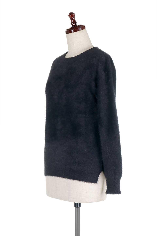 ShaggyknitPullOverTopシャギーニット・ミラノリブニット大人カジュアルに最適な海外ファッションのothers(その他インポートアイテム)のトップスやニット・セーター。ふわふわシャギーが着心地抜群のニットトップス。ミラノリブという編地でしっかりとした編みになっているので保温効果も抜群です。/main-26