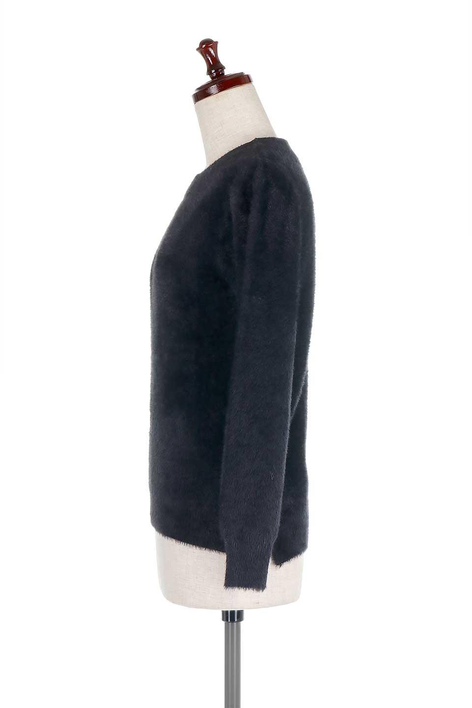 ShaggyknitPullOverTopシャギーニット・ミラノリブニット大人カジュアルに最適な海外ファッションのothers(その他インポートアイテム)のトップスやニット・セーター。ふわふわシャギーが着心地抜群のニットトップス。ミラノリブという編地でしっかりとした編みになっているので保温効果も抜群です。/main-27