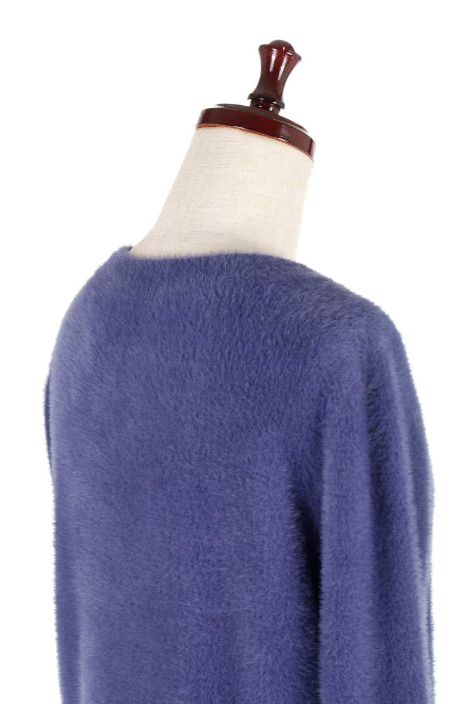ShaggyknitPullOverTopシャギーニット・ミラノリブニット大人カジュアルに最適な海外ファッションのothers(その他インポートアイテム)のトップスやニット・セーター。ふわふわシャギーが着心地抜群のニットトップス。ミラノリブという編地でしっかりとした編みになっているので保温効果も抜群です。/main-31
