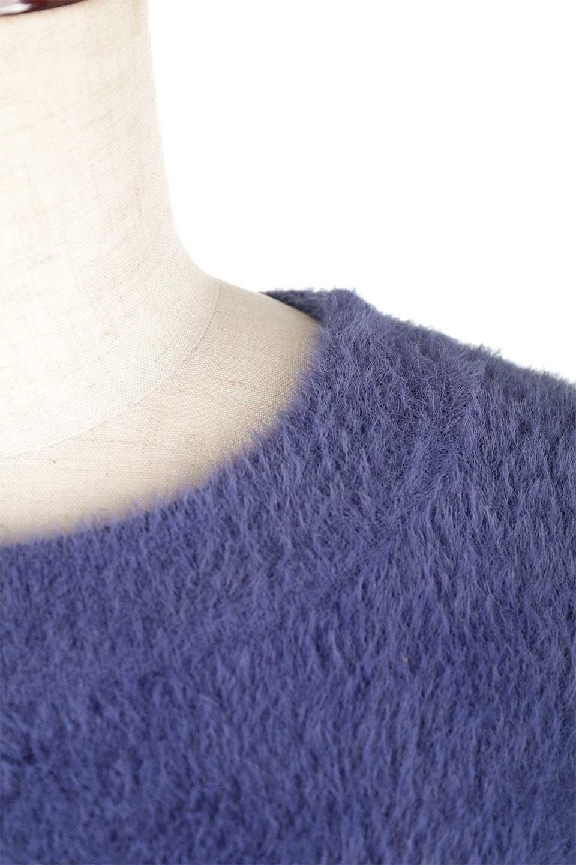 ShaggyknitPullOverTopシャギーニット・ミラノリブニット大人カジュアルに最適な海外ファッションのothers(その他インポートアイテム)のトップスやニット・セーター。ふわふわシャギーが着心地抜群のニットトップス。ミラノリブという編地でしっかりとした編みになっているので保温効果も抜群です。/main-33